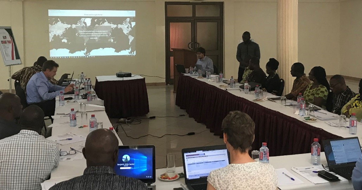 Implementing a drought early warning system in Ghana